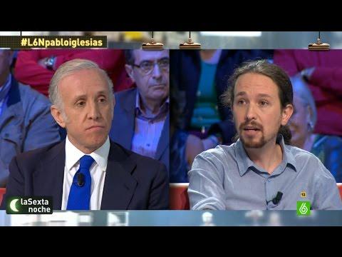 """Pablo Iglesias, a Inda: """"No conozco de nada a Nicolás Maduro"""""""