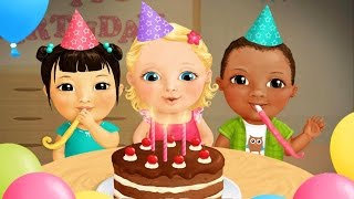 Let's Make The Birthday Cake Baby Game