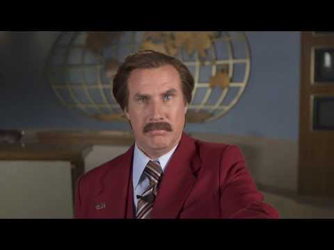 Anchorman 2 - Ron Burgundy Vocal Warm Up