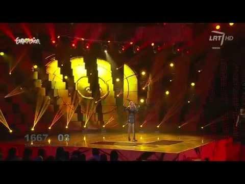 """Atlikėja Monika Linkytė į sceną užlipo su daina """"Dangerous"""" (S.O.S.) High-definition"""