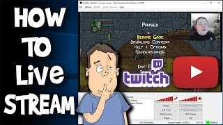 How to live stream, step by step using OBS