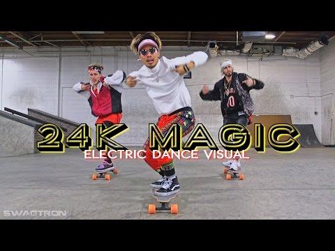 download lagu Brunomars - 24k Magic Electric Skateboard  Scooter  gratis