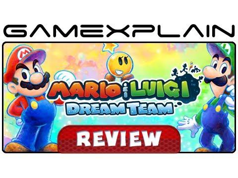 Mario & Luigi: Dream Team - Video Review (Nintendo 3DS)