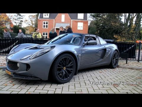 Lotus Exige w/ Supercharger 260HP + Quicksilver Exhaust!! LOUD Sound!!