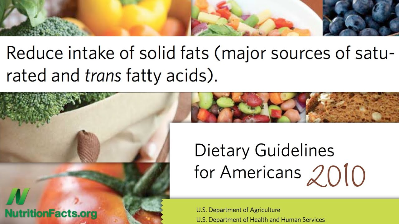 Dietary Guidelines: USDA Conflicts of Interest