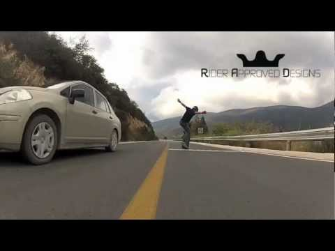 Longboarding: Monterreal No Hands