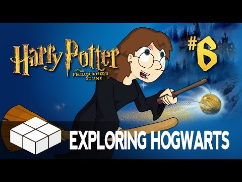 Lets Play - Harry Potter And The Philosopher's Stone #6 - exploring Hogwarts video