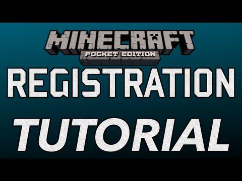 Register for Realms in Minecraft Pocket Edition  TUTORIAL 