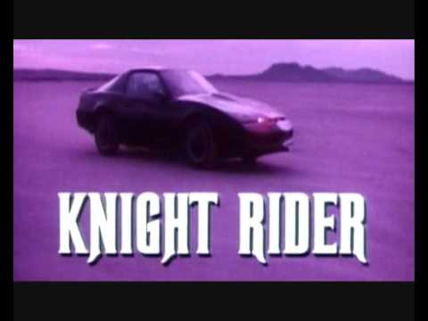 Knight Rider Theme Song (Intro Instrumental/Orginal) - Stu Phillips Video