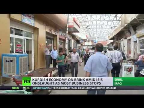 ISIS onslaught kills Kurdish economy