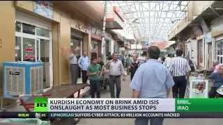 ISIS onslaught kills Kurdish economy