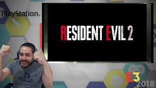 OMG IT'S FINALLY HAPPENING! Resident Evil 2 Remake trailer reaction !   E3 2018