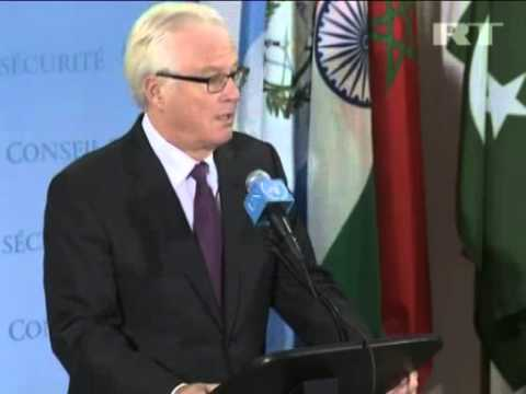 Oct 25, 2012 U.S._Brahimi's Moscow visit could help Syrian settlement - Churkin