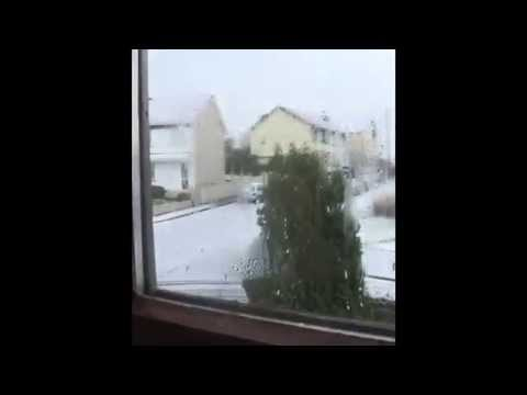 Snowing In Sligo!!! 13 01 2015 video