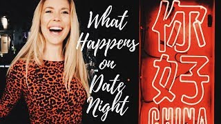 WHAT happens on date night?! | VLOG 001