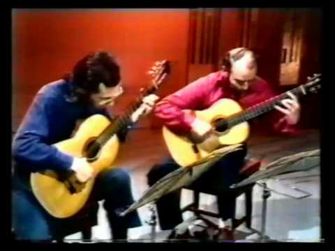 Rare Guitar Video: John Williams and Julian Bream plays La vida breve by Manuel de Falla