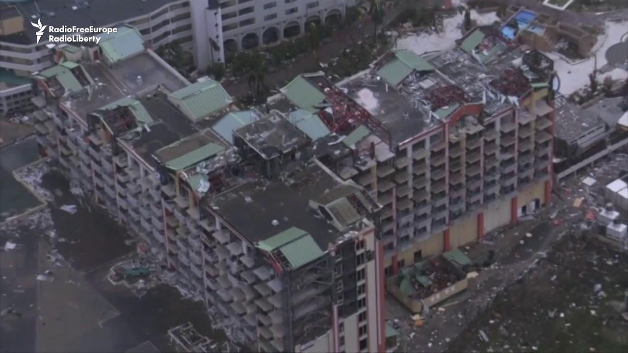 "Hurricane Irma Causes ""Enormous Damage"" To Caribbean Islands"