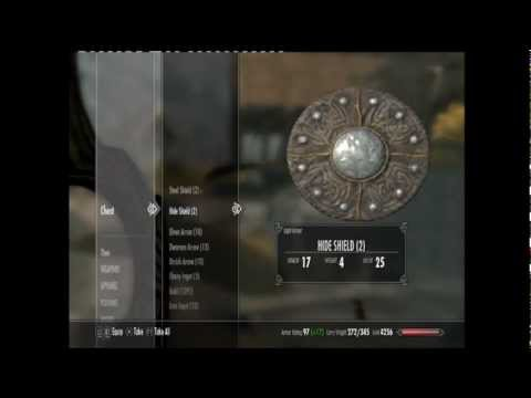 Skyrim Unlimited Items/Coins/Out the map Glitch