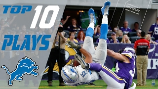 Lions Top 10 Plays of the 2016 Season | NFL Highlights