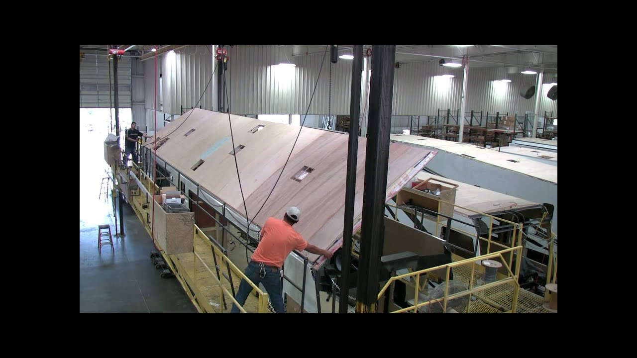 Roof Install C Inside Thor Motor Coach Brought To You By