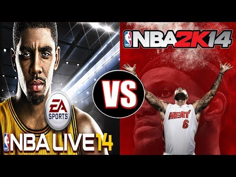 NBA Live 14 vs NBA 2K14 Next Gen Gameplay Review   PS4 Gameplay