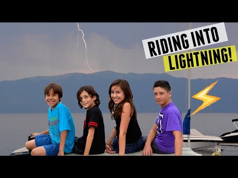Riding into Lightening! | Tahoe Vlog Day 3 | Sierra