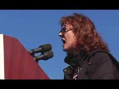 Susan Sarandon's speech at D.C. Peace rally - Jan. 27, 2007