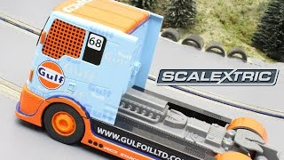 Scalextric Team Gulf Racing Truck