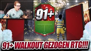 FIFA 19: OMG 91+ WALKOUT GEZOGEN! MEGA ROAD TO GLORY PACK OPENING 😱😱 FIFA 19 Ultimate Team