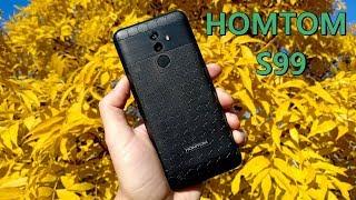 HOMTOM S99 - недорогой смартфон с батареей 6200 mAh и памятью 4Gb/64Gb