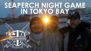 Fly Fishing in Japan: Seaperch Night Game in Tokyo Bay