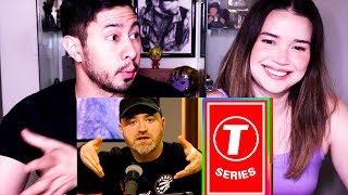 LEW LATER ON T-SERIES HITTING 100 MILLION SUBSCRIBERS (Unbox Therapy) | Reaction!