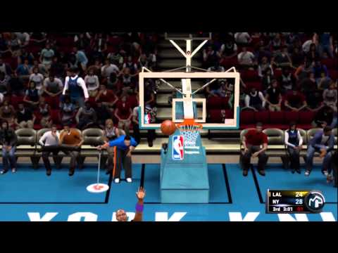 NBA 2K11: Get in the net you crazy Whore!