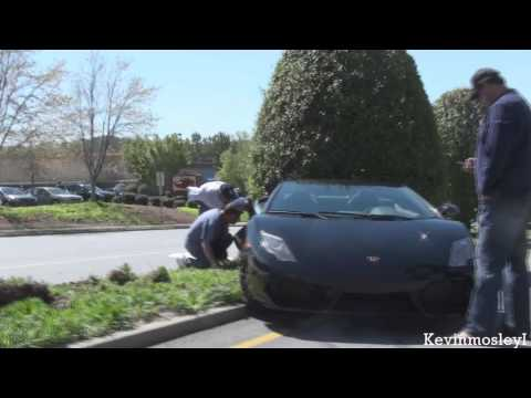 Twin Turbo Lamborghini LP560-4 Spyder wreck!