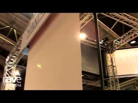 ISE 2016: ScreenLine Showcases Maximilian Large Venue Screen