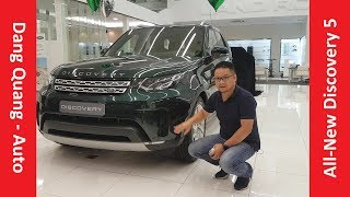 [DangQuang] Đánh giá xe Land Rover All-New Discovery 5