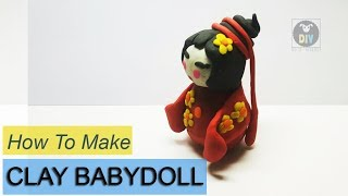 HOW TO MAKE CLAY JANPAN BABYDOLL