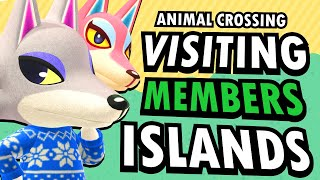 Visiting Members ISLANDS  - Animal Crossing New Horizons LIVE