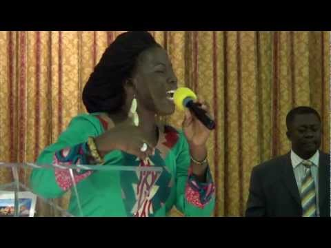 dina antwi hamilton at COP usa