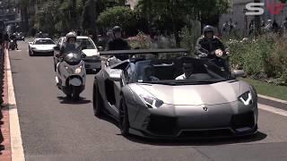 SUPERCARS VS POLICE | Lamborghini, Ferrari, BMW