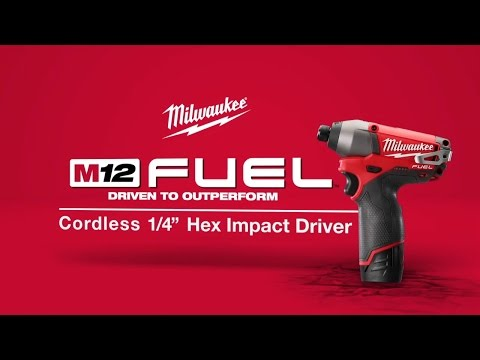 M12 FUEL Cordless 1/4&amp;quot; Hex Impact Driver