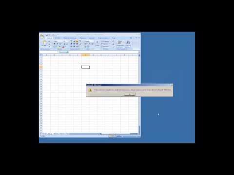 Microsoft Office Excel 2007 - изменение шрифта и его размера при открытии документа