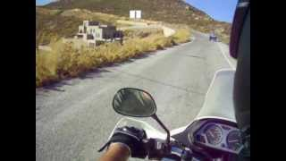 Patmos GR xtz750 ride from Diakofti to Skala.wmv
