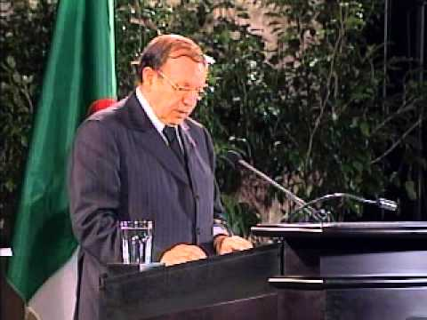 Shell Distinguished Lecture Series -- Abdelaziz Bouteflika English