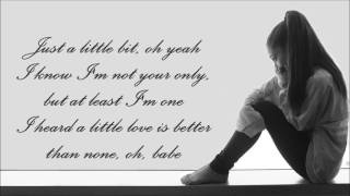 download lagu Ariana Grande ~ Just A Little Bit Of Your gratis