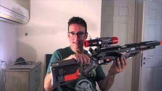 NERF LONG STRIKE CS 6 MOD