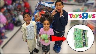 No Budget Challenge at Toys R Us!