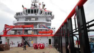 HOS Bayou Launch, Sea Trials & Interior