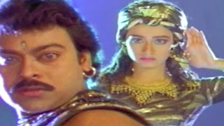 Nagini Ooo Full Video Song || Raja Vikramarka Movie || Chiranjeevi, Amala
