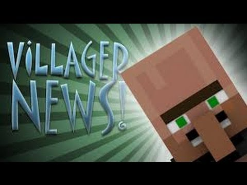 Villager News Minecraft Mini movie
